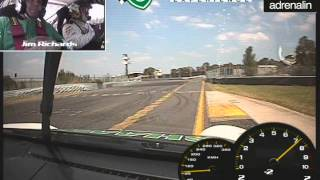 Hot Laps in Jim Richards Porsche at Sandown Raceway