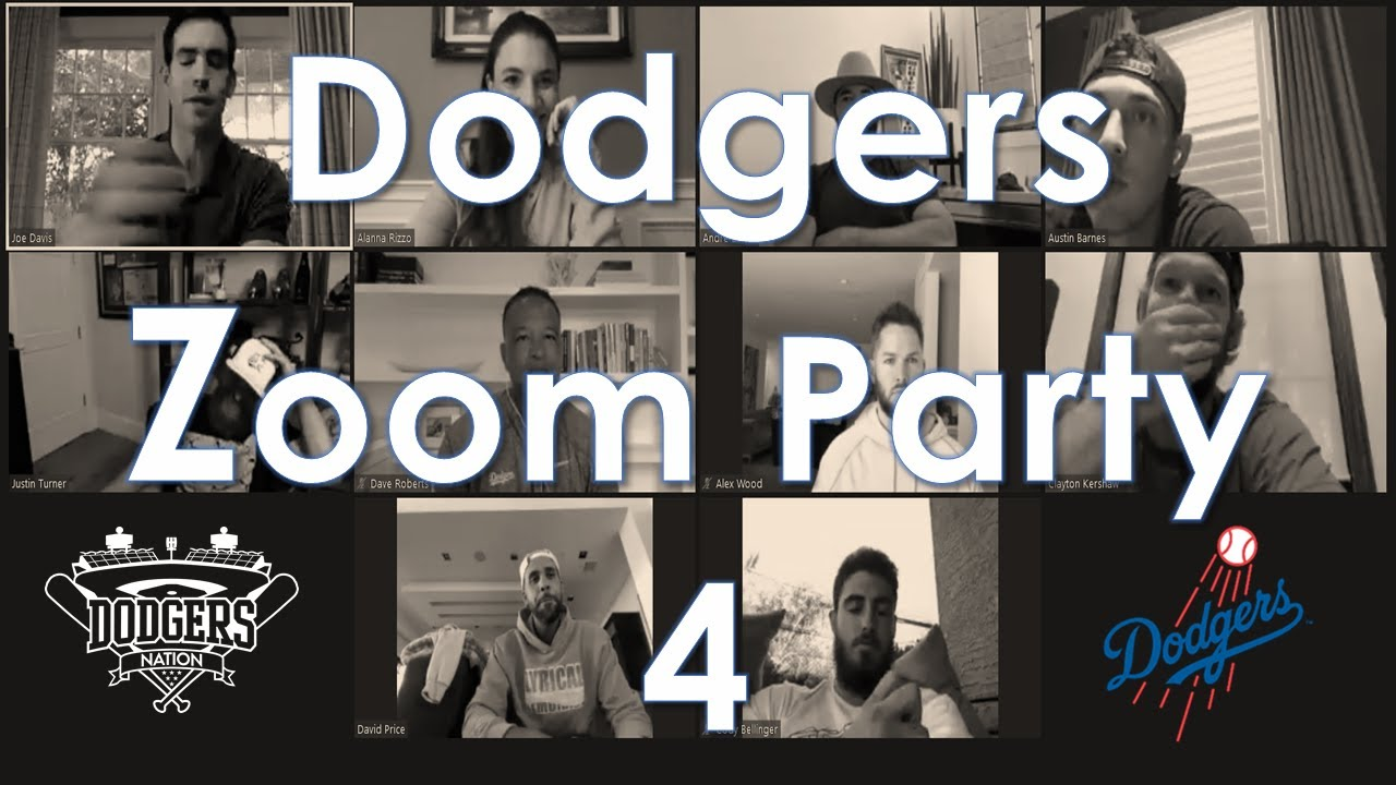 Dodgers 4th Zoom Party Features Playful Bullying For Barnes And Struggles For Bellinger Dodgers Nation