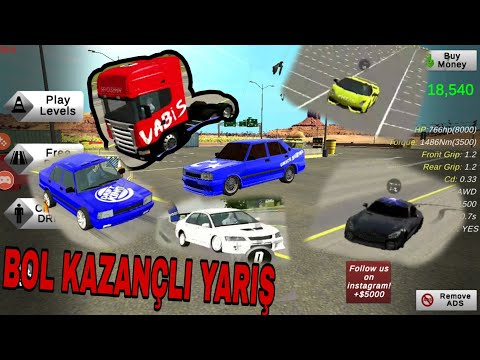 Car Parking Multiplayer YARIŞ DERLEMESİ #2 // Tofaş VS Lamborghini - 동영상