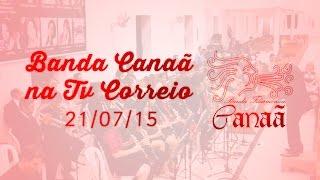 Banda Filarmônica Canaã na Tv Correio em 21-07-15