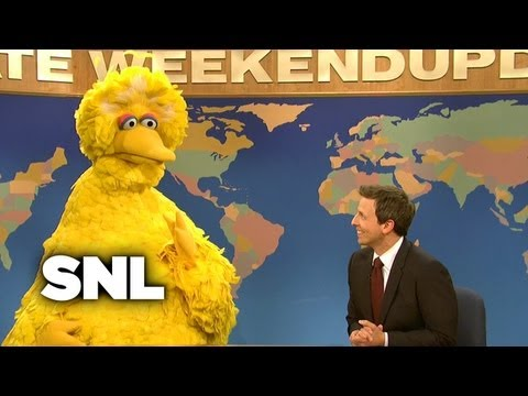 Weekend Update: Big Bird on Mitt Romney Ending PBS' Subsidy - SNL