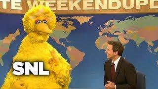 Weekend Update: Big Bird - Saturday Night Live