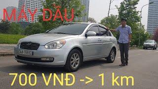 Hyundai Accent 1.5L M/T 2007 | Máy DẦU siêu tiết kiệm