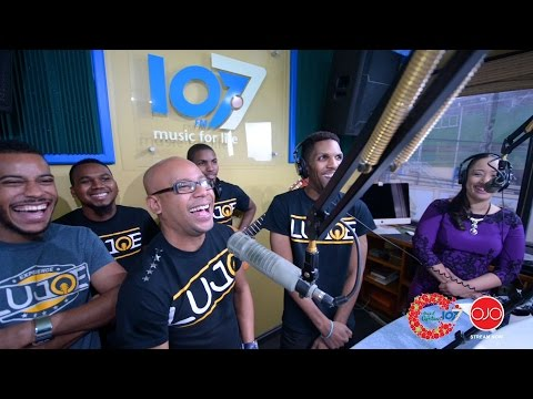 The Magic Of Christmas On 1077 featuring Lujoe & The Gifted