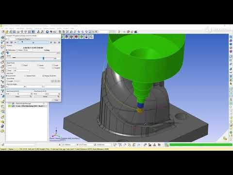 5-Axis offset machining - 2 | WORKNC 2022