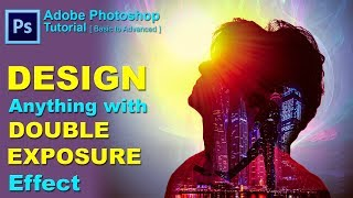Double Exposure Effect | Photoshop Tutorial | Concept Design | Movie poster designing