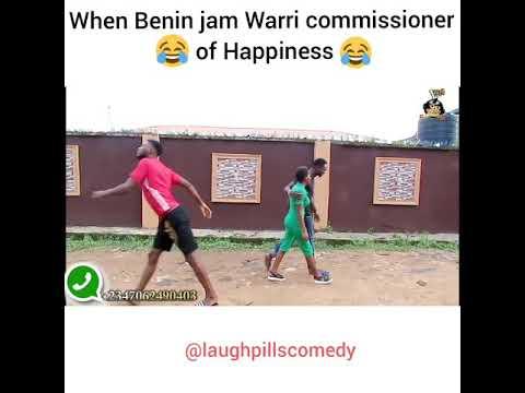 Warri Commissioner of happiness