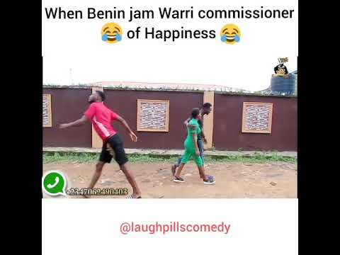 Download Warri Commissioner of happiness (LaughPillsComedy)