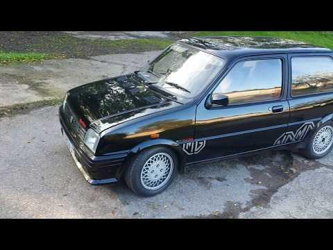 My 1989 MG Metro Turbo!