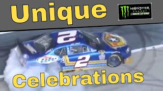 Unique Celebrations in NASCAR