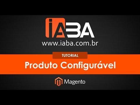 Tutorial Magento 1.8.1.0 - Produto Configurável