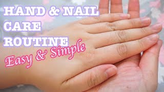 Simple Hand & Nail Care Routine | For Naturally Rough & Dry Hands