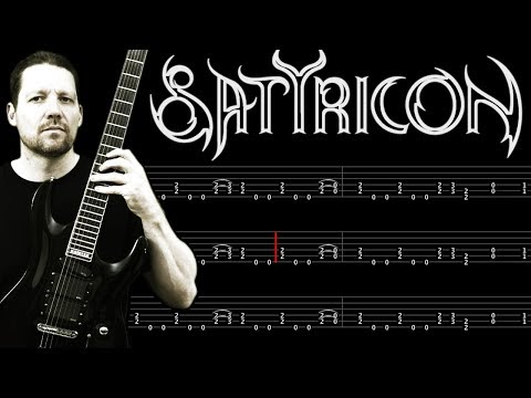 Satyricon Fuel For Hatred - Tab + Lesson