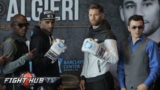 Amir Khan vs. Chris Algieri Full Video- Complete Final Press Conference & Face Off
