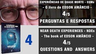 EQM - 4/5 - Perguntas Respostas – Livro Edson Amâncio   NDE - Questions Answers – Book Edson Amâncio