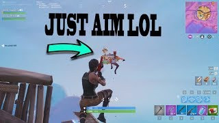 JUST AIM LOL! Mini Montage Fortnite
