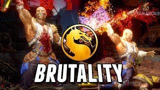 "BARAKA IS A BRUTALITY MACHINE! - Mortal Kombat 11 Online Beta: ""Baraka"" Gameplay"