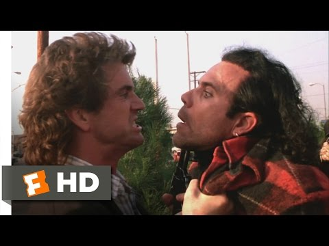 Lethal Weapon 110 Movie CLIP  Crazy Cop 1987 HD