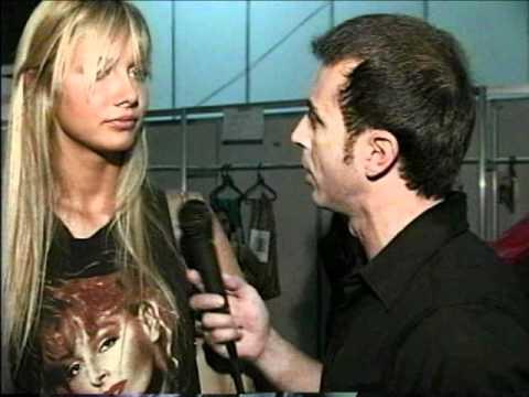 Ana Cláudia Michels 28-06-2000, entrevista com Francisco Chagas no Over Fashion