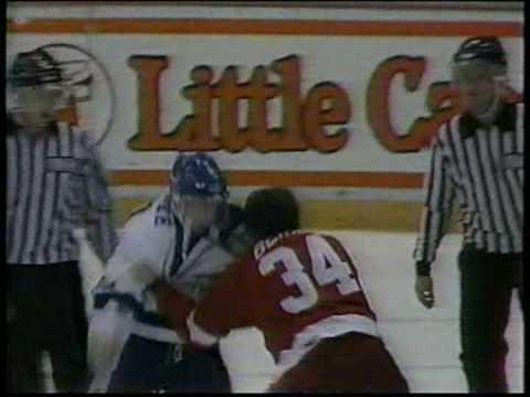 Bryan Berard Vs Jay McKee 10/30/94