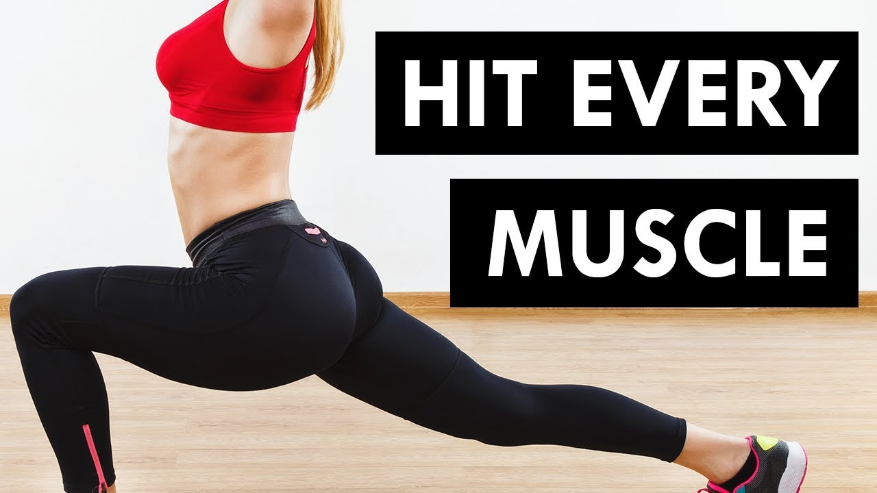 10 Minute Total Body Workout (Abs, Butt, Thighs Upper Body)