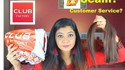 Club Factory Haul And Review  || Hair Extensions 😡 || Online Shopping India 2018