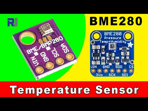 How To Use BME280 Temperature, Humidity And Pressure Sensor With Arduino