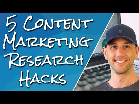 How To Find Unlimited Ideas For Content Marketing. 5 Research Hacks To Find What Your Audience Wants