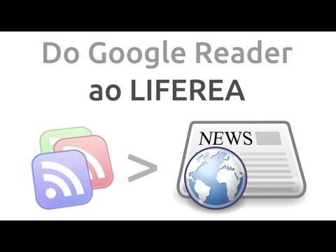 Substituindo o Google Reader pelo Liferea (Replacing Google Reader with Liferea)