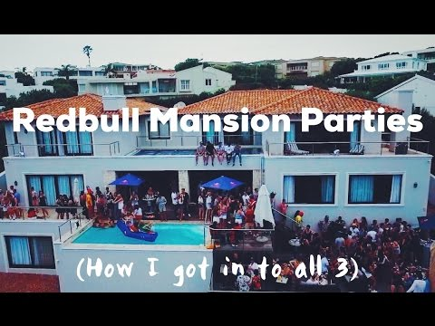 The Red Bull Mansion Parties | Plett Rage
