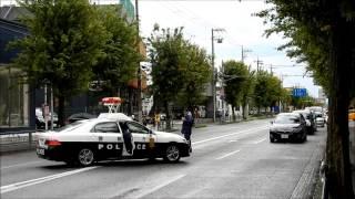 通行止めの新青梅街道を猛スピードで緊急走行する東京電力 thumbnail