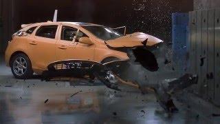 Volvo V40 спереди зачитываться тест небольшое перекрытие аварии