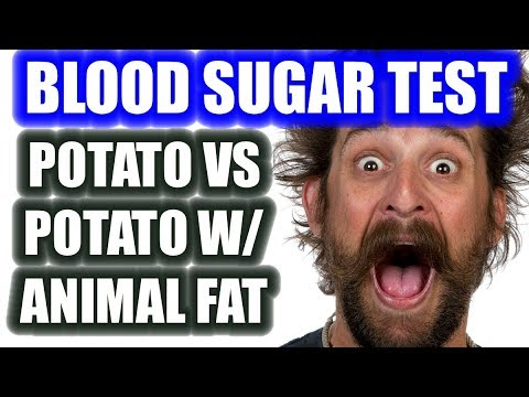 blood-sugar-test:-potato-alone-vs-potato-with-animal-fat