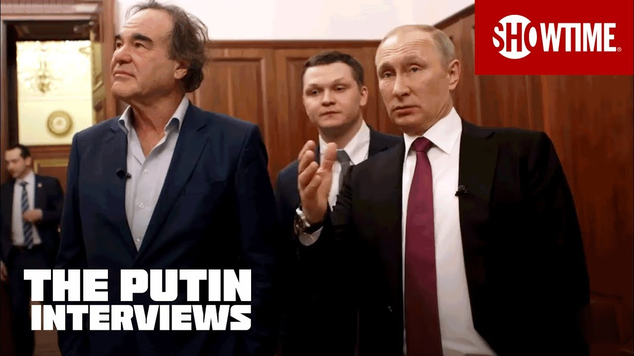 The Putin Interviews Vladimir Putin Gives Oliver Stone A Tour Of His Offices Showtime
