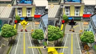 sonic adventure 2 hd split screen city escape