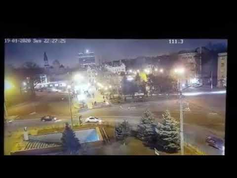 ДТП на Привокзальной площади. Одесса. Стена перехода спасла людей.
