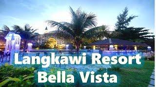 Good price langkawi hotel.말레이시아  랑카위리조트 호텔 벨라비스타,  풀장과 시뷰 실용적인 조식, 安くきれいなランカウイのホテル
