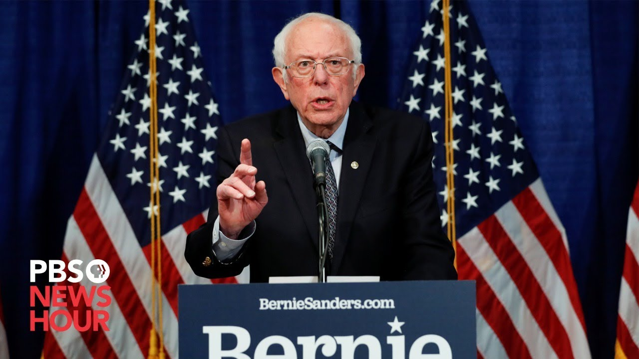 WATCH LIVE: Sen. Bernie Sanders holds town hall on coronavirus with public health experts