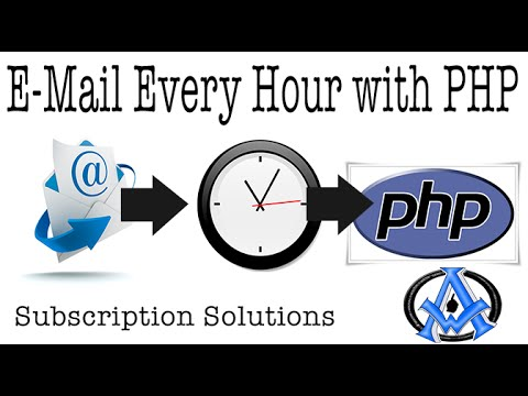 Sending emails every hour with limit in php