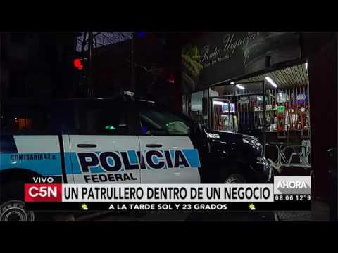 C5N - Tránsito: Choque en Avenida Independencia y Estados Unidos, San Cristóbal