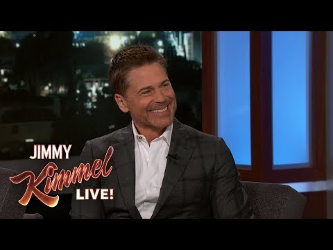Rob Lowe Does 'Not Great' Michael Caine, Paul McCartney Impressions (Video)