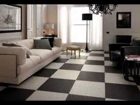 Living room tiles design - YouTube