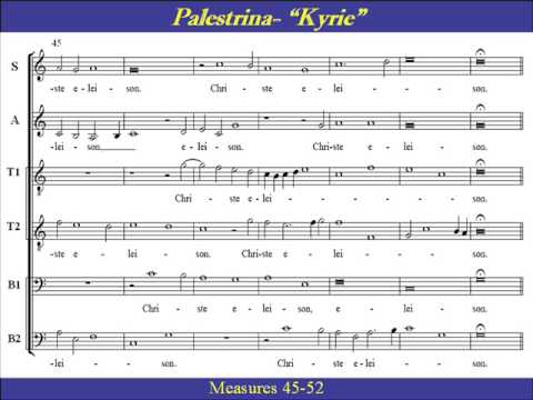 Kyrie Eleison - No. 1 from Missa Papae Marcelli