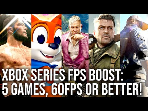 Первые тесты Xbox FPS Boost от Digital Foundry