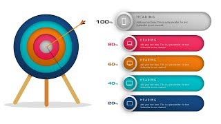 how to create target goals objective mission slide or graphic design in microsoft powerpoint ppt