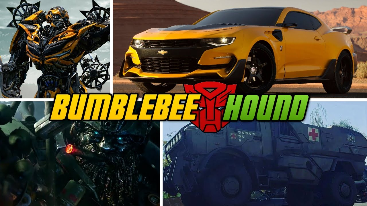 bumblebee and hound transformers 5 vehicles youtube. Black Bedroom Furniture Sets. Home Design Ideas