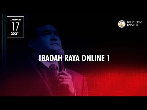 Ibadah Raya Online 1 - Minggu, 17 Januari 2021