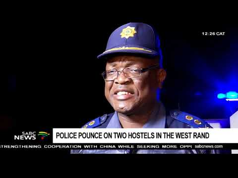 Police pounce on two hostels in the West Rand