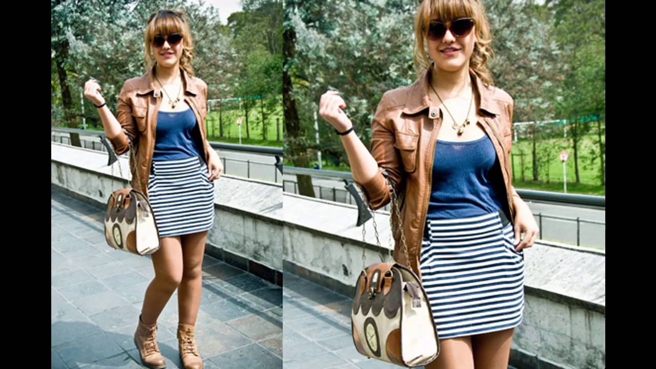 Outfits Con Botas Cafes Mujeres