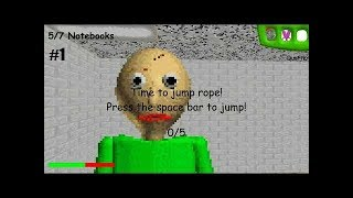 BAD TEACHER SLAPS STUDENT WITH YARDSTICK | Baldi's Basics in Education and Learning gameplay